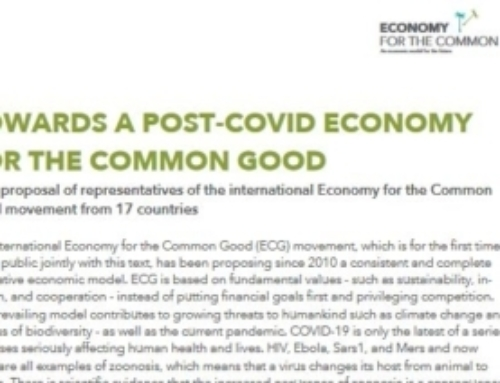 Towards a post-Covid economy for the Common Good