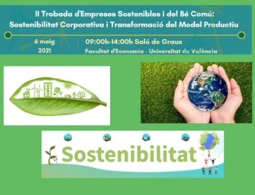 Conference of Sustainable and Common Good Companies in Valencia, Spain