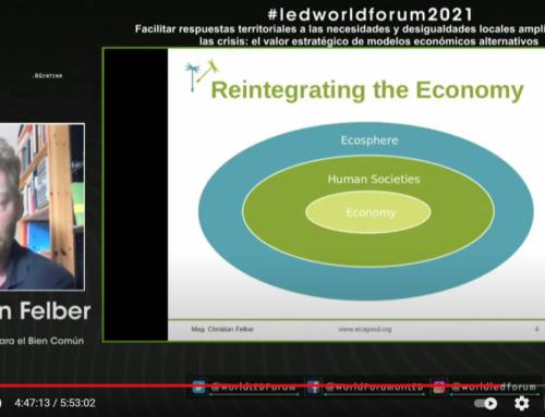 UNDP event on alternative economic models – recording now available online